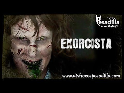 Exorcista Tutorial Maquillaje - YouTube