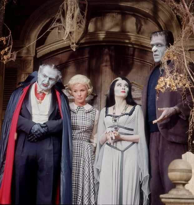 the munsters - Munsters Halloween Episode