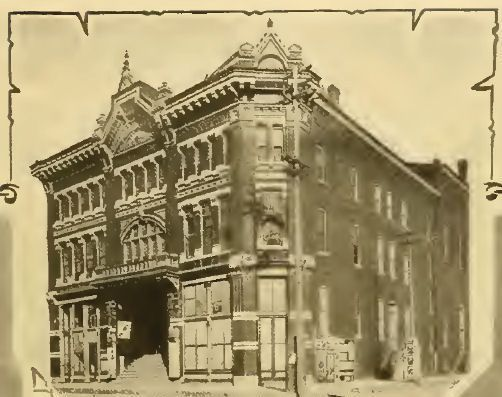 """""""Greenwall's Opera House."""" (Photo from Greater Fort Worth, 1907.)"""