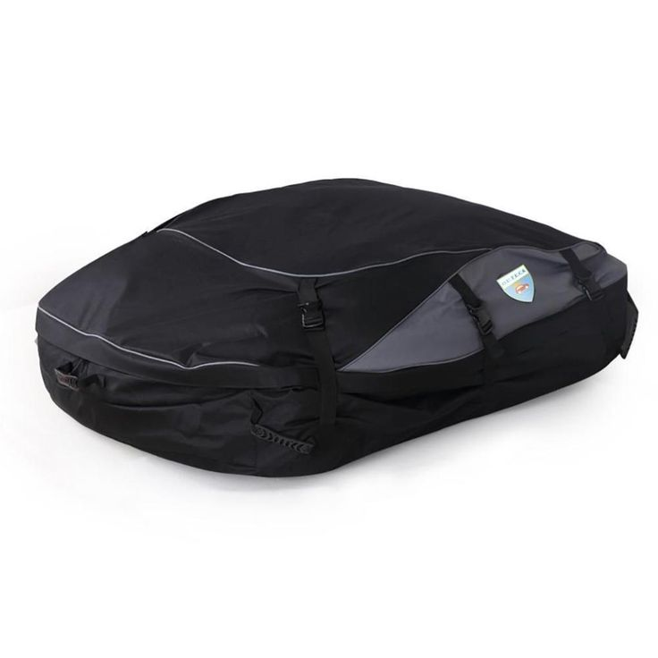 100% Waterproof Carrier Roof Top Cargo Rack Bag Cover for All Vehicle Car, Black #Leedford