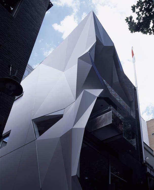 Futuristic Architecture, Monaco House | Architect: McBride Charles Ryan