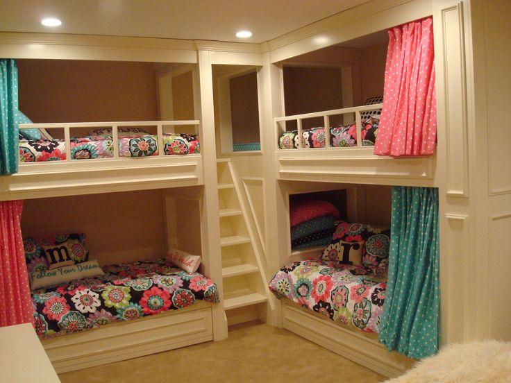 Dorm Room Storage Bed