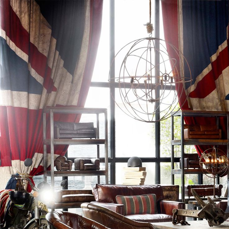 Curtains (Vintage Union Jack) | Decorative | Living Room