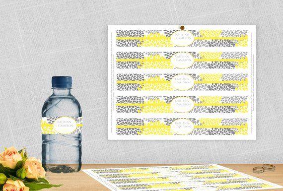 Avery Water Bottle Label Template Beautiful Diy Water Bottle Label Template For Aver In 2020 Bottle Label Template Water Bottle Labels Template Diy Water Bottle Labels
