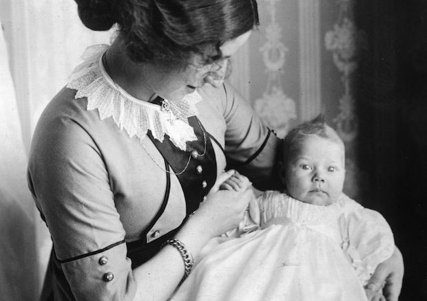 """What to Expect When You're Expecting (100 Years Ago): """"If you think pregnancy and potentially dying in childbirth are rough, try the horrible stigma of incomplete womanhood. Women were put here for a purpose, darling, and it ain't self-actualization through personal growth."""""""