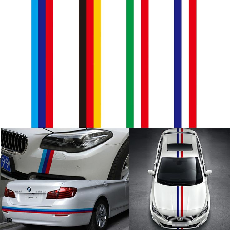 15cm100cm car sticker car styling for engine cover national flag pvc film car