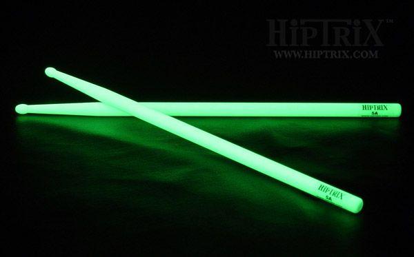 Soooo cool glow in the dark drumsticks!!!