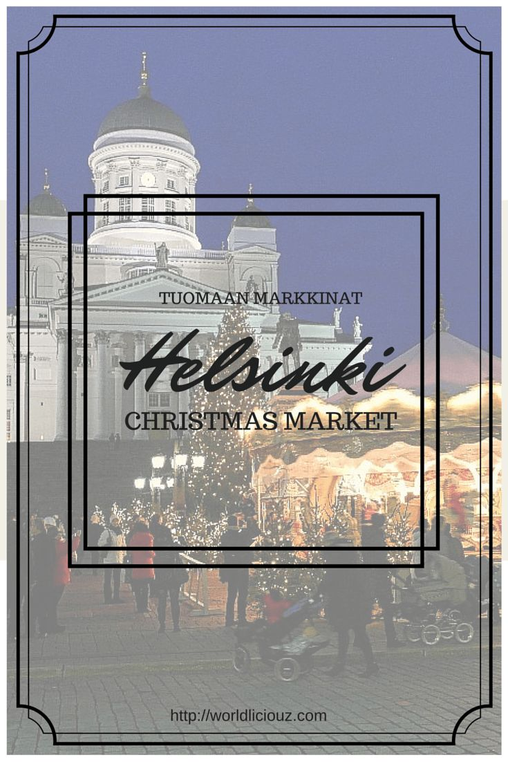 Helsinki Christmas Market, also known as Tuomaan Markkinat, is one of the rare Christmas Markets we have in Finland and very much worth a visit.