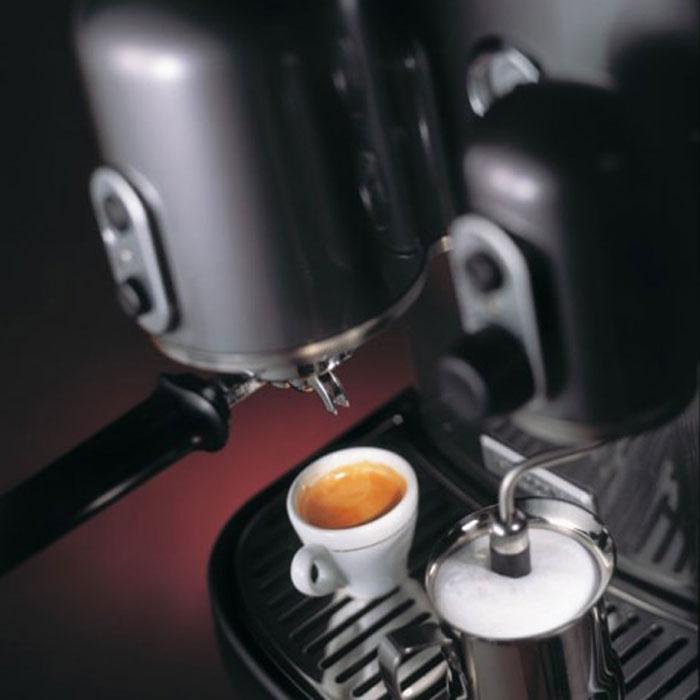 Macchina per Caffè Espresso Artisan - Grigio metallizzato