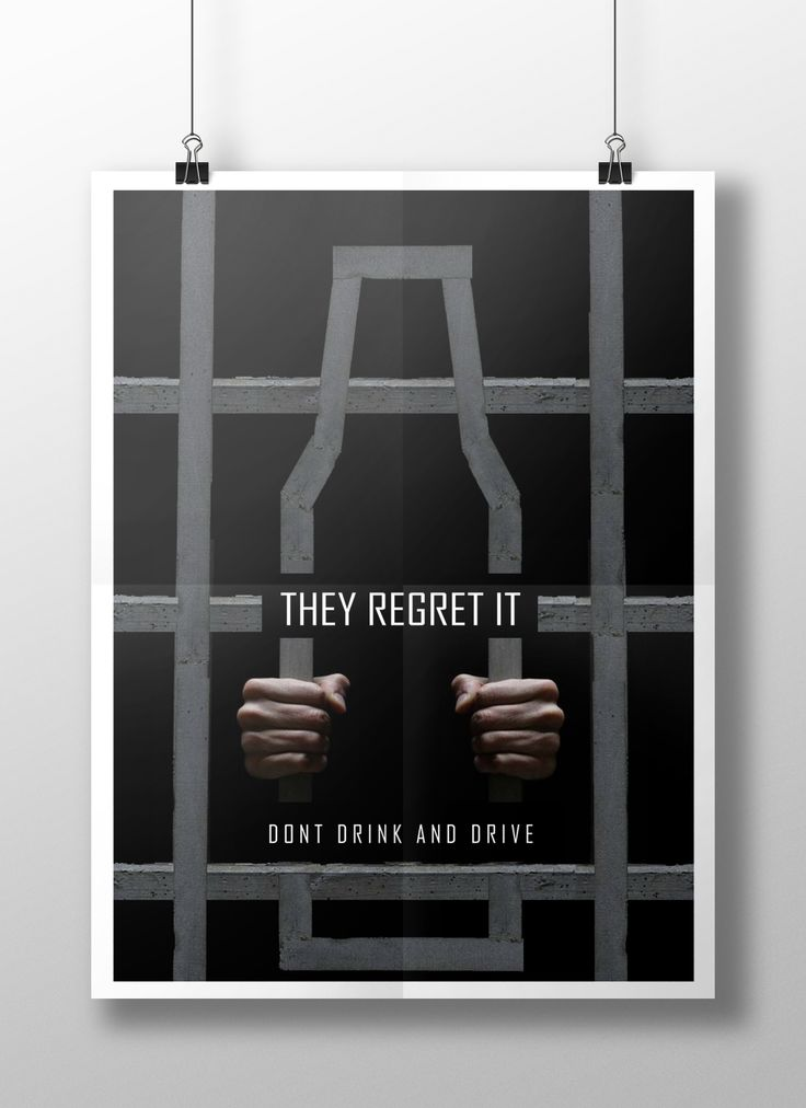 Don't Drink and Drive Posters on Behance