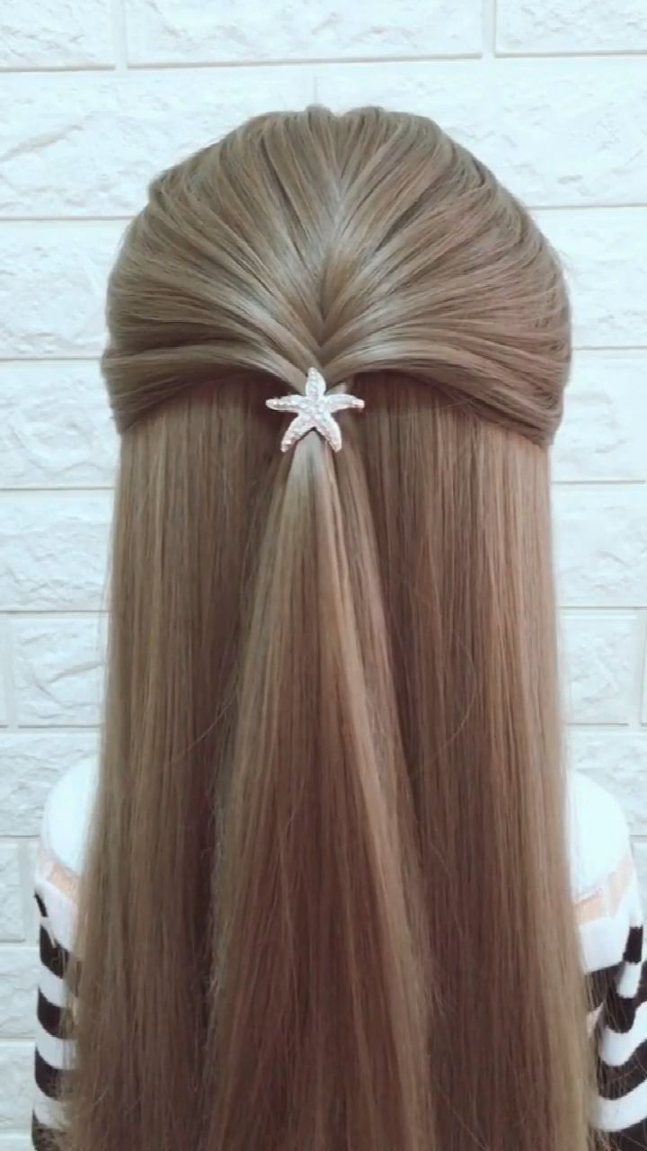 Hairstyle Tutorial 882 -   - #haircolorhairstyles #hairstyle #hairstyleformediumlengthhair #tutorial