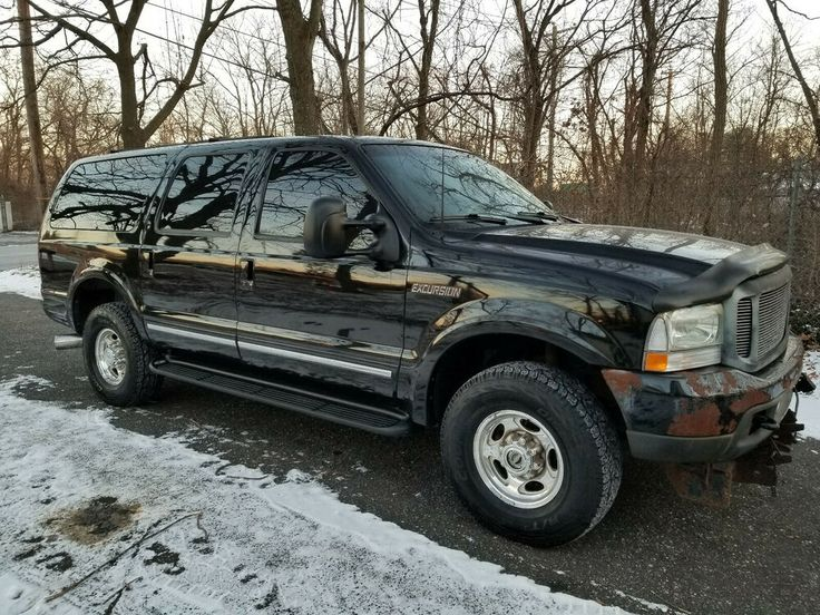 2002 Ford Excursion in 2020 Ford excursion, Diesel cars
