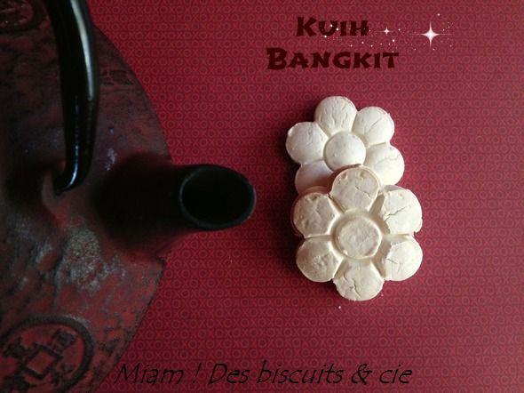 Kuih Bangkit pour la Fête de la Mi-Automne