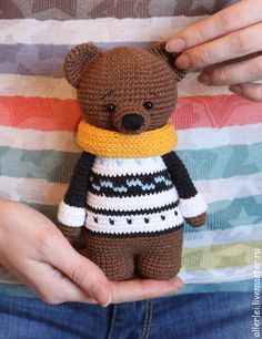 bear crochet pattern - free