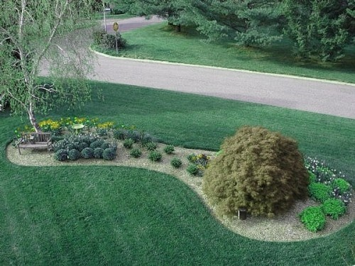 Front yard outdoors pinterest for Big rock in front yard