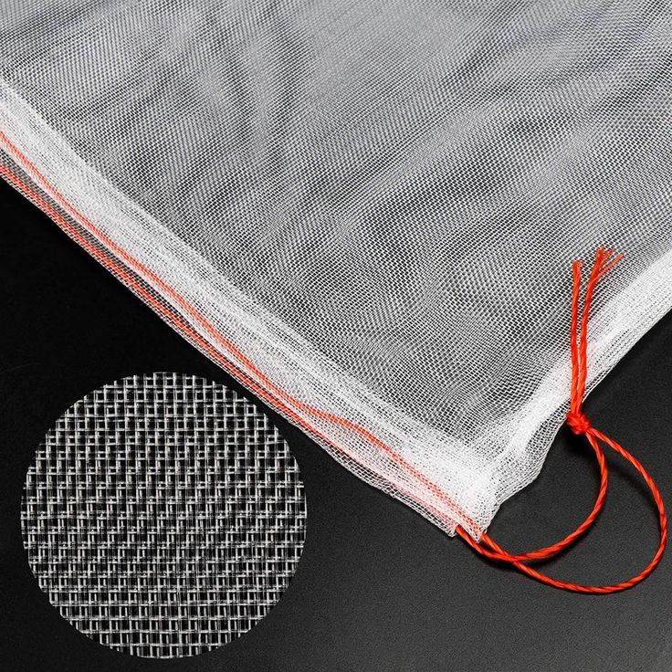 50pcs Garden Insect Barrier Cover Net Protect Bags Plant