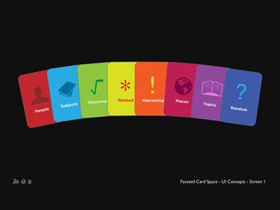 Dribbble - Card User Interface II by Darren Geraghty