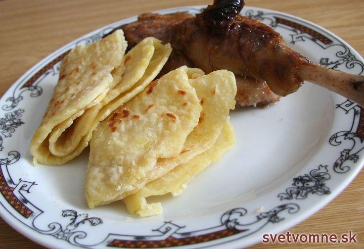 Recept na chutné a jednoduché lokše.