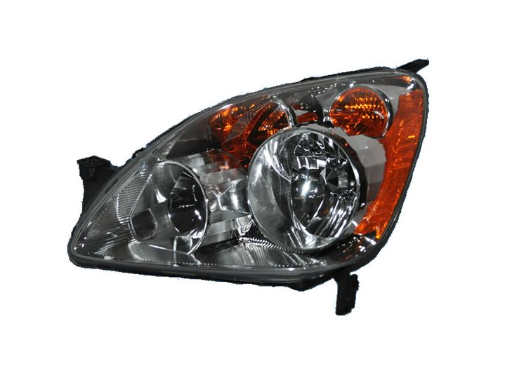 2005-2006 Honda CR-V New Driver Side Halogen Headlight: HEADLIGHT CRV 05-06 (JAPAN BUILT) HALOGEN TYPE HL… #CarHeadlights #AutoHeadlights
