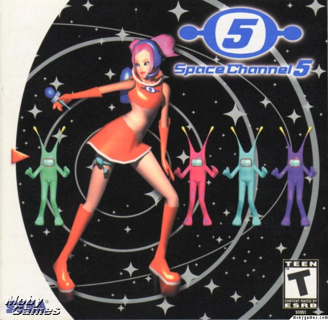 Space Channel 5 for the Sega Dreamcast.