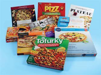 PIZZAS SURGELÉES - McCain, Delissio, Stromboli, Dr. Oetker, Amy's... Une pizza surgelée santé, ça existe? Oui, mais il y en a peu. Parmi les 148 pizzas analysées, à peine 14 produits sont recommandés!