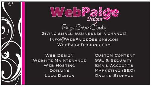 WebPaige Designs!  Contact for VERY Affordable Web Services! WebPaigeDesigns.com or shop.WebPaigeDesigns.com #webDesign