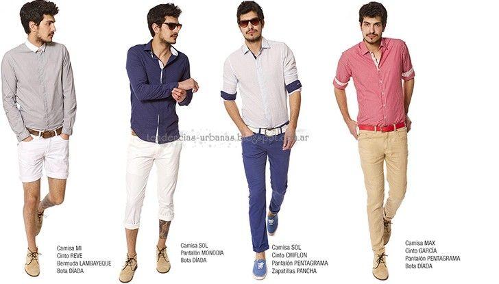 Moda Urbana Para Hombres Verano 2013