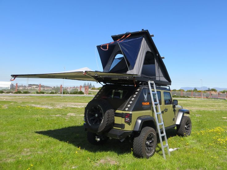 Expedition 3 Rooftop Tent — AluCab in 2020 Roof top