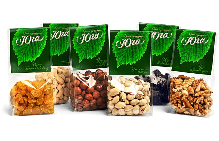 fruit and nut packaging