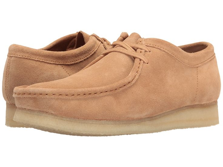 CLARKS CLARKS - WALLABEE (FUDGE SUEDE) MEN'S LACE UP CASUAL SHOES. #clarks #shoes #