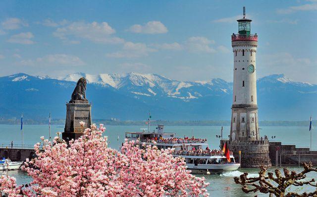 Hotel Bayerischerhof Lake Constance, Lindau Island, Germany - this 5 star hotel right on the lake is amazing!