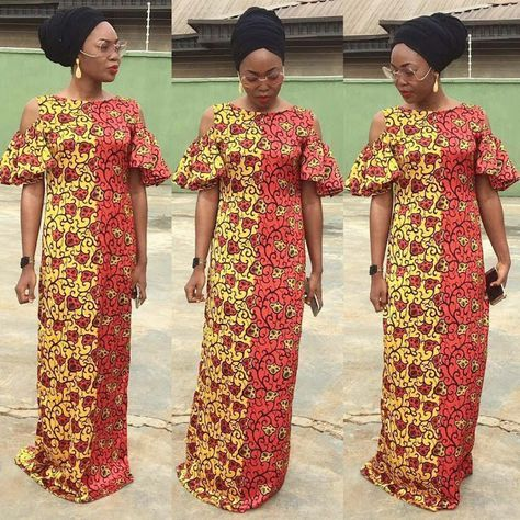 Beautiful Ankara Long Gown Style Dezango Fashion Zone My Collection Pinterest Robe Pagne