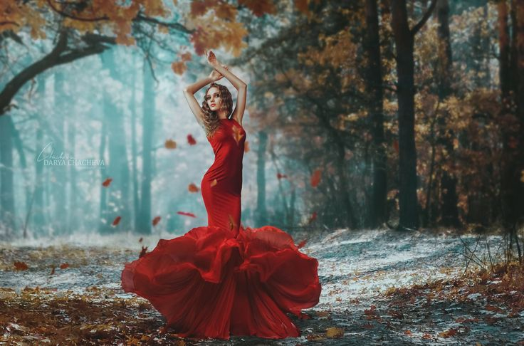 #chacheva #forest #girl