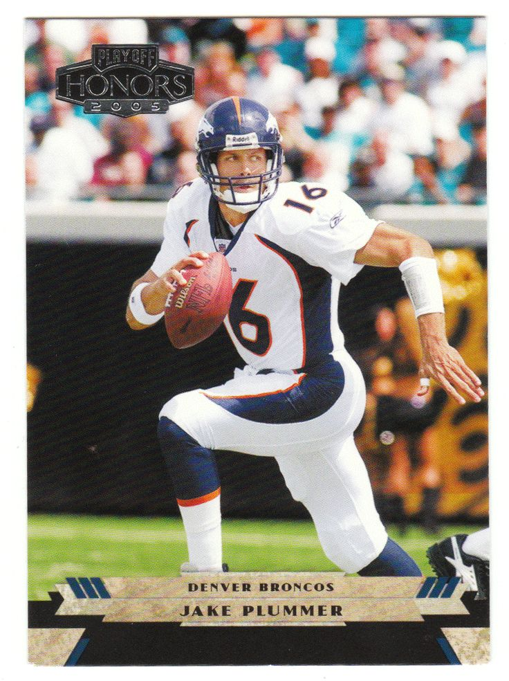 Jake Plummer # 31 - 2005 Playoff Honors Football