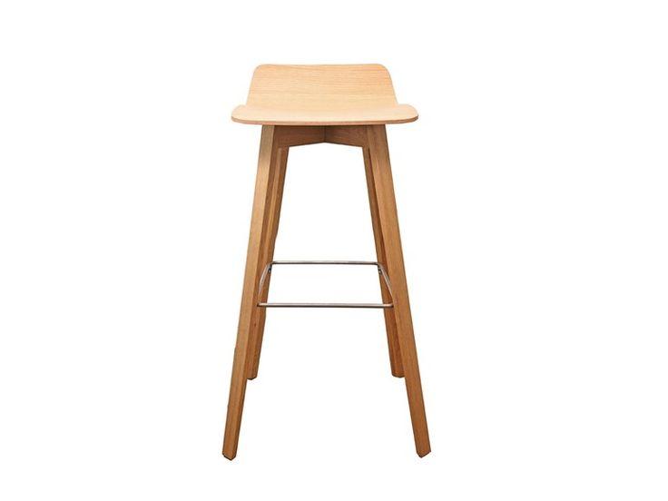 MAVERICK Multi-layer wood stool by KFF design Birgit Hoffmann