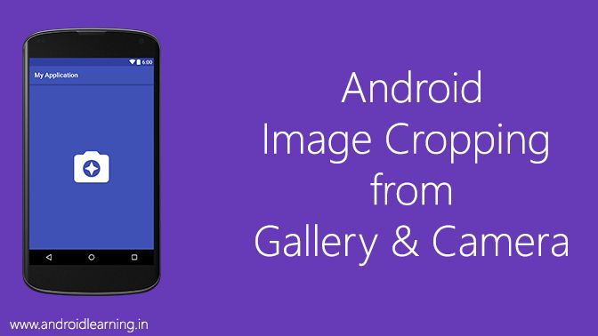 Capture and Crop an Image with the Device Camera
