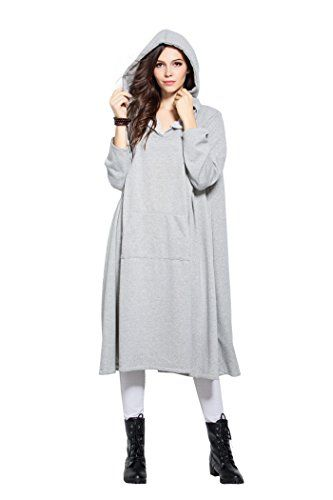 e04aa7e69 Enjoy exclusive for Anysize Hoodie Robe Cotton Tops Winter Clothing ...