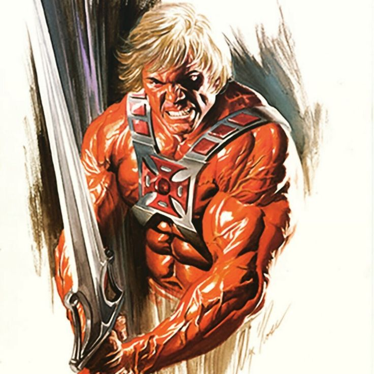 Alex Ross. Masters of the Universe. He Man.