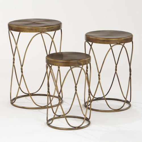 Nico Nesting Tables Mediterranean Side Tables And Accent Tables   Nice For  The Patio. From World Market
