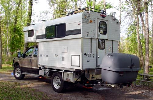 After purchasing our Alaskan camper from the factory in Chehalis, Washington a little over a year ago, we have traveled and camped in a dozen states and had temperature fluctuations from +110 to -17 Fahrenheit.The solid sides and convex roof make the camper excellent in inclement weather. And I believe the pop-up roof lift system of the Alaskan is the best on the market. In other words, the camper was an excellent base to make a custom camper capable of functioning onand off the grid.