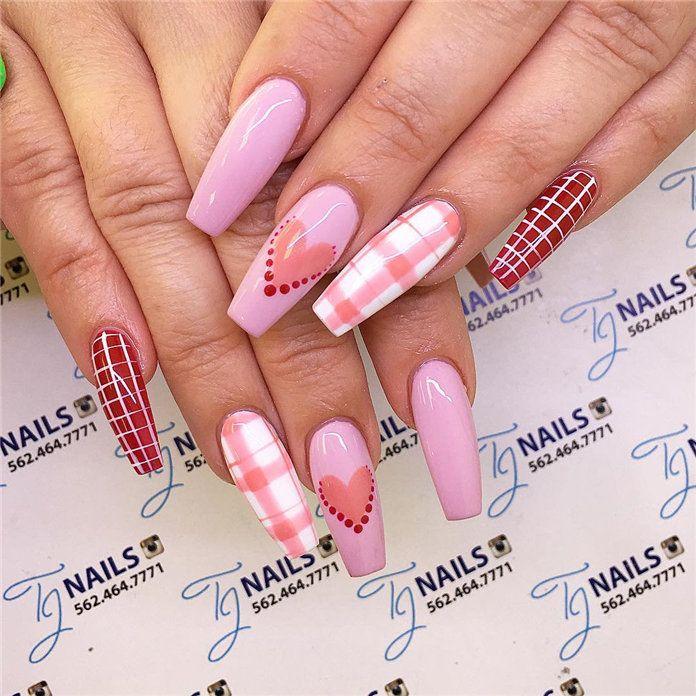 Valentine S Day Nail Design Ideas Valentines Nails Nail Designs Valentines Valentine S Day Nail Designs Valentine S Day Nails