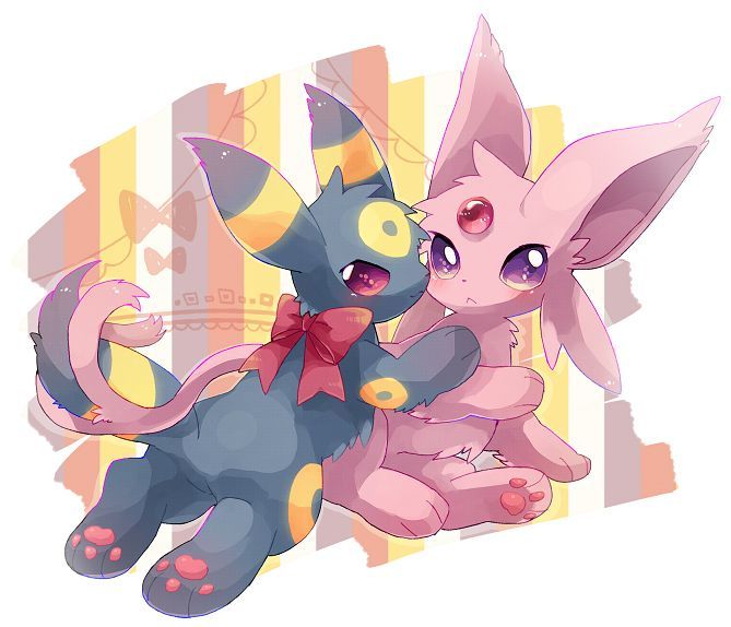 Espeon and umbreon females sex