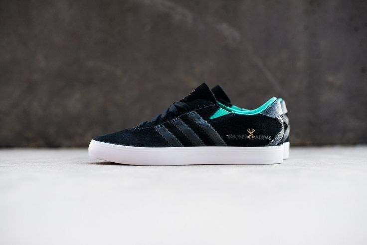 Image of A Closer Look at the Krooked Skateboards x adidas Skateboarding Gonz Pro