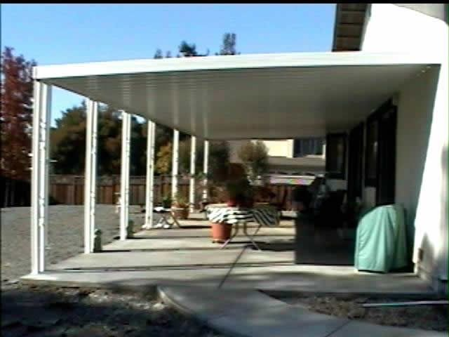 Aluminum Patio Covers | Standard Aluminum Patio Cover