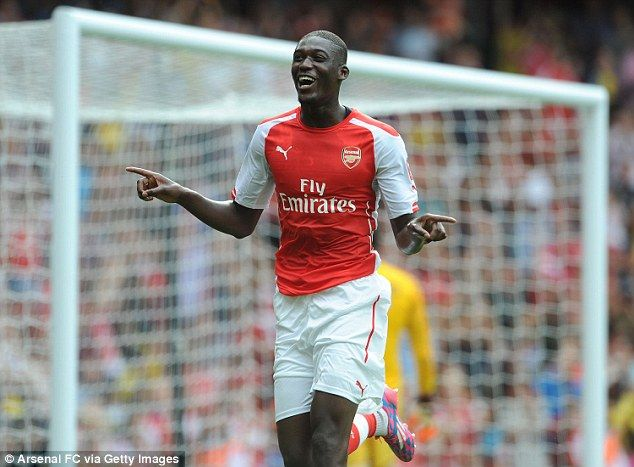 Wenger surprised by Sanogo's four goals for Arsenal against Benfica