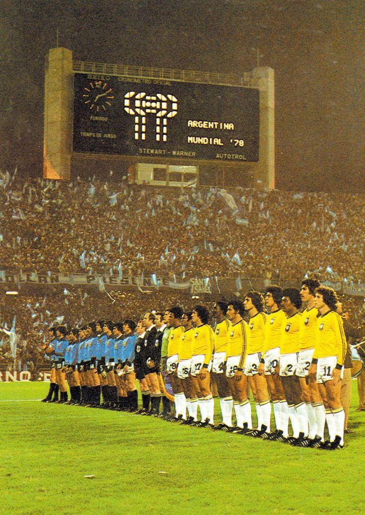Argentina v Brasil, World Cup 1978..@Jorge Martinez Martinez Cavalcante (JORGENCA) #betterthanbraziltaxi #BrazilAirportTransfers http://brazilairporttransfers.com 1-800-617-6398