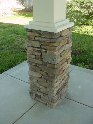 Gorgeous wooden and stone front porch ideas (47)