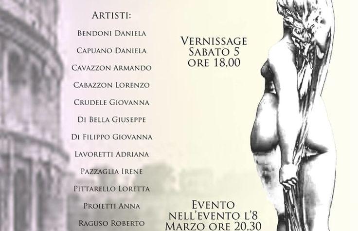 Nelle Sale del Bramante l'artèdonna, mostra al femminile fino al 10 marzo organizzata da Artisti di Roma
