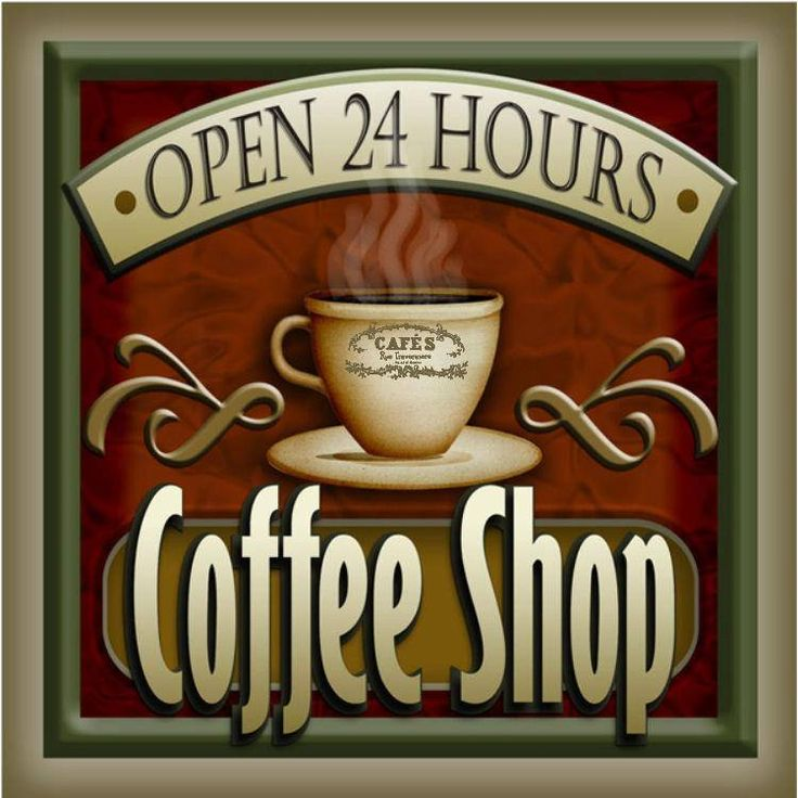 coffee shop open 24 hs