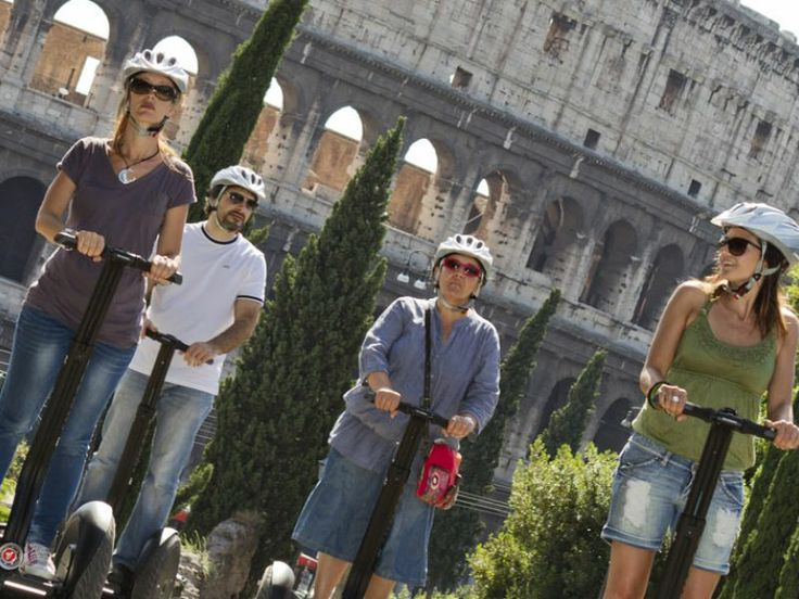 Panoramic Tour by #Segway to discover the treasures of #Rome - #tour #italyXP #travel #italy #WeLoveItalyXP